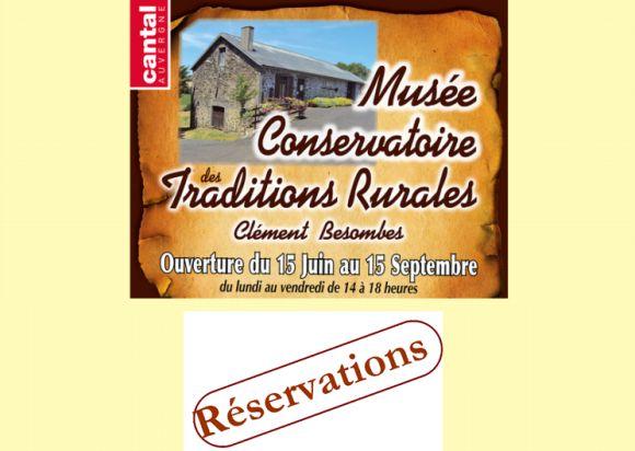 Réservation Musée Conservatoire de Mauriac